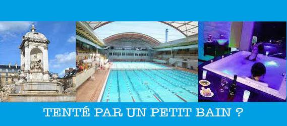 Se rafraîchir à Paris - Fontaines, piscines et spas