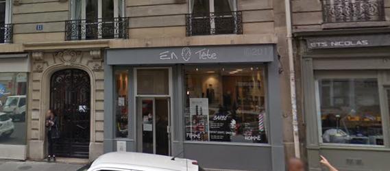 10 Barbiers à Paris - En tête
