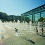Jeux d'eau pour survivre à la canicule à Paris