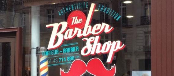 10 Barbiers à Paris - The BarberShop