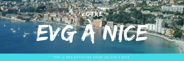 Top 10 des activités pour un EVG à Nice !