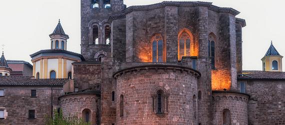 La ruta románica de Cataluña-catedral de Santa Maria de Solsona Intripid