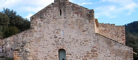 la ruta románica de Cataluña-iglesia de Sant Quirze de Pedreret Intripid
