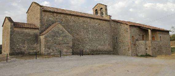 La ruta románica de Cataluña- iglesia de Sant Vicenç dObiols Intripid