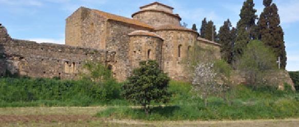 La ruta románica de Cataluña-iglesia del monasterio sant Miquel de Crüilles Intripid