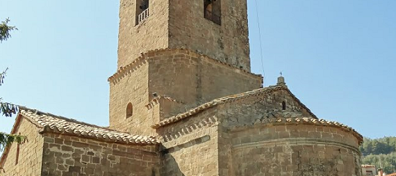 La ruta románica de Cataluña-Monasterio de Santa Maria de l'Estany