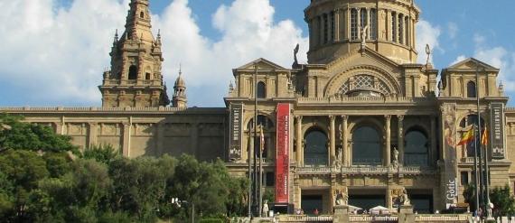 La ruta románica en Cataluña-museo nacional de Arte de Cataluña Intripid