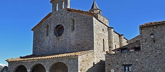 la ruta románica de Cataluña-Santa Maria de Talló Intripid