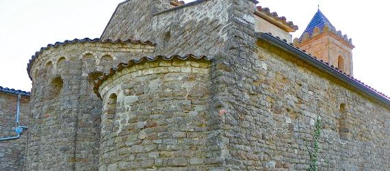 La ruta románica de Cataluña-iglesia de Sant Andreu Intripid