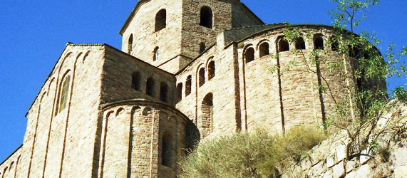 La ruta románica de Cataluña-iglesia de Sant Vicenç en Cardona Intripid
