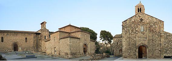 La ruta románica de Cataluña-conjunto iglesisas Terrassa Intripid