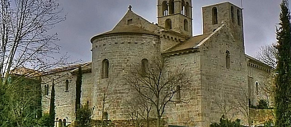 La ruta románica de Cataluña-monasterio de Sant Benet Intripid