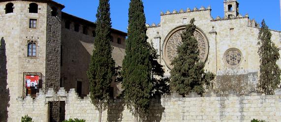 La ruta románica de Cataluña-monasterio Sant Cugat Intripid