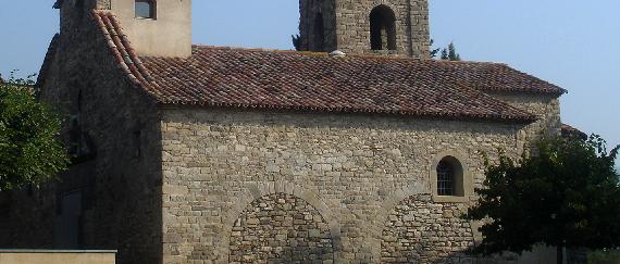 La ruta románica de Cataluña-monasterio Sant Vicenç de Torelló Intripid