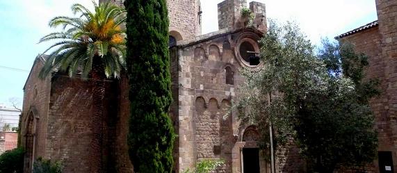 La ruta románica de Cataluña-monasterio Sant Pau del Camp Intripid
