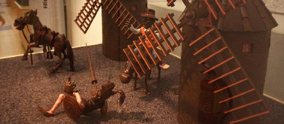 Visitar Barcelona con niños-museo del chocolate Intripid