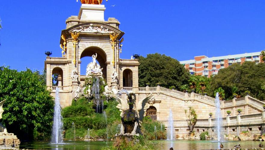 #ruta modernista en Barcelona parque ciutadella #intripid
