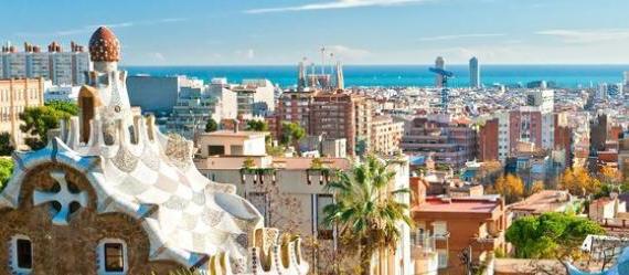 Vue sur Barcelone