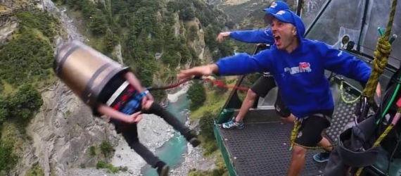 Anniversaire Lyon saut à l'élastique